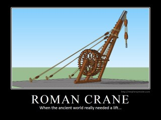 ROMAN CRANE: When the ancient world really needed a lift.