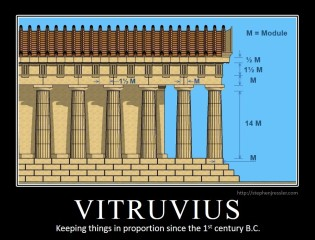 VITRUVIUS: Keeping things in proportion since the 1st century B.C.