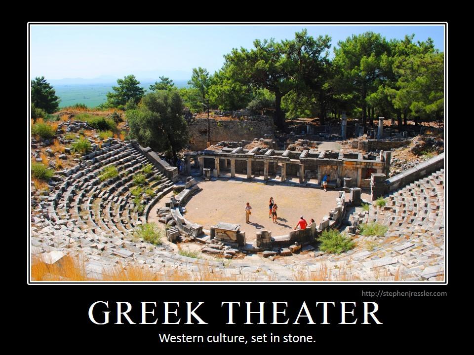 ancient greek drama MEMEs