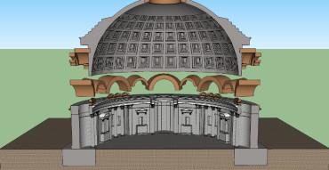 Pantheon Internal Structure