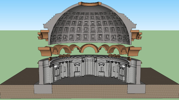Pantheon Internal Structure