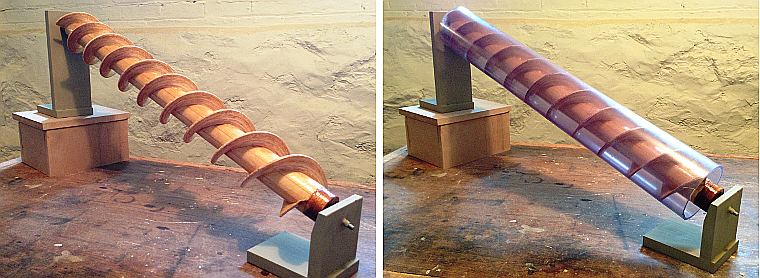 Model of Archimedes Screw