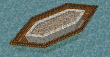 Roman cofferdam