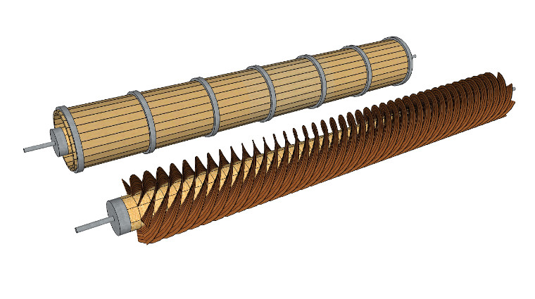 Archimedes' Screw: Ancient Invention Used To Transfer ...  |Ancient Archimedes Screw